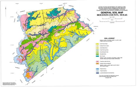 soil map of texas general soil map houston county texas side 1 of 1 the portal to texas history