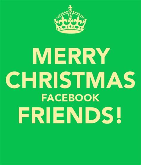 merry christmas facebook friends poster huldah  calm  matic