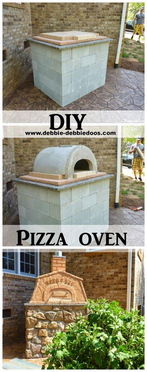 build brick oven backyard diy outdoor pizza oven debbiedoo s wood fired pizza