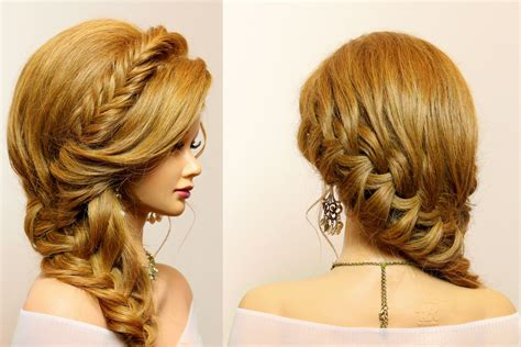 hairstyles for very long hair youtube party hairstyle for long hair tutorial with braids youtube
