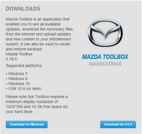 mazda row naviextras map updates for your navigation