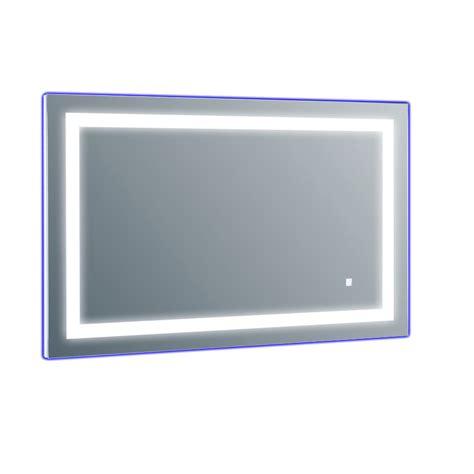 Led Lit Bathroom Mirrors Eviva Evmr52 47x28 Led Deco Wall Mounted Lighted Bathroom Vanity Backlit Led Mirror With