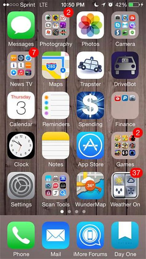 how organized is your ios homescreen iphone ipod