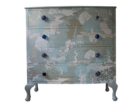 Wallpaper On Dresser by Bryonie Porter S Wallpaper Furniture