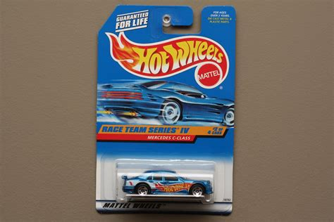 Hotwheels Mercedes C Class wheels 1998 race team mercedes c class blue