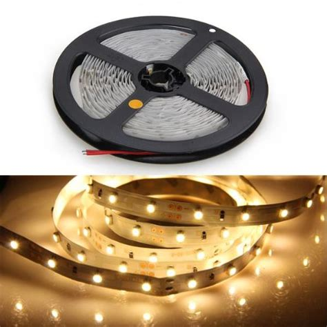 Led Lights Strips 12 Volt Led Light 300 Led Warm White 3100k Led Ribbon 12 Volt 24 Watt Ed Ebay