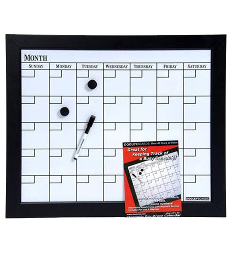 Calendar Board Magnetic Erase Calendar Board In Calendars And Planners