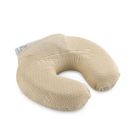 buy therapedic 174 memory touch neck pillow from bed bath