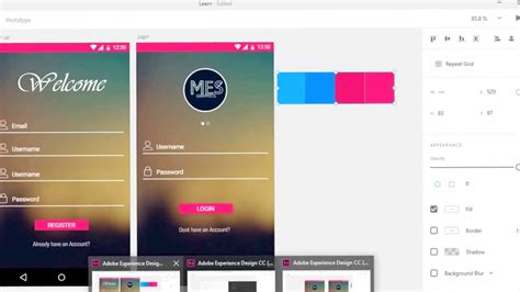 tutorial adobe experience design android material design with adobe experience design xd