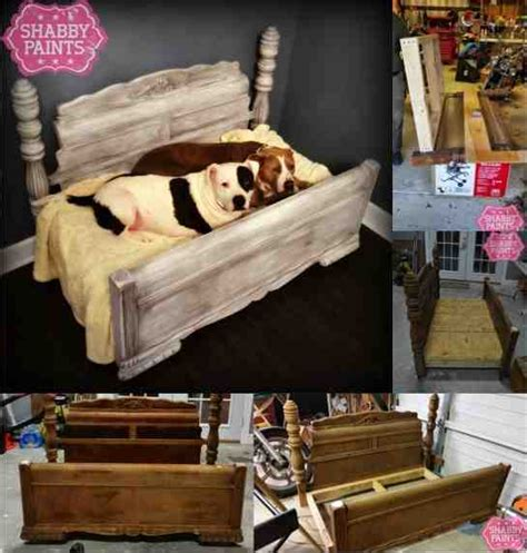 Cat Furniture Diy Bed Frame Upcycled To Gorgeous Pet Bed Do It