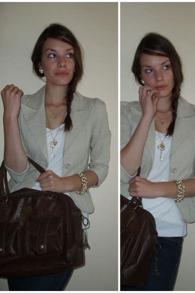 Ripcurl Paket Brown Gold beige valley blazers brown ripcurl purses gold accessories white ts shirs quot key to my