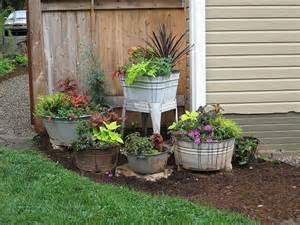 unique container gardening ideas home design