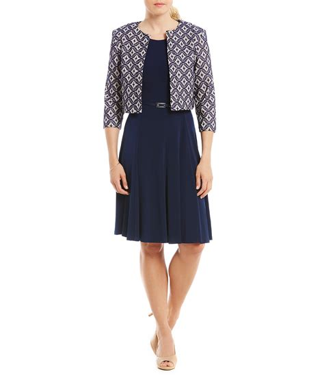 Jesica Dress 2 by Howard Belted 2 Jacket Dress Dillards