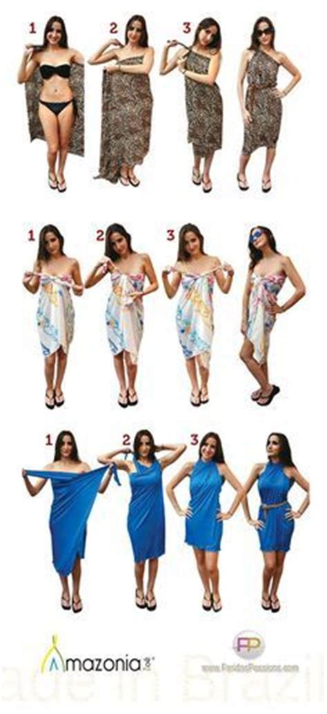 7 Ways To Take Your Office Wear Out On The Town by 26 Best Ways To Wear A Sarong Images On