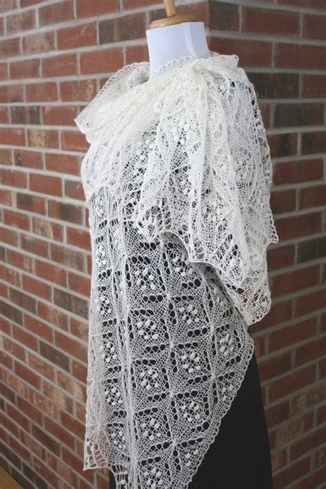 free knitting pattern motifs all knitted lace free pattern motif quatrefoil