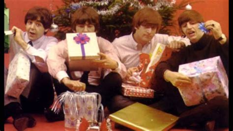 beatles  christmas message recording session   youtube
