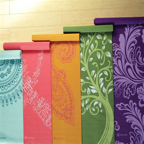 Matting A Print by Gaiam Print Mat Review Yogauthority