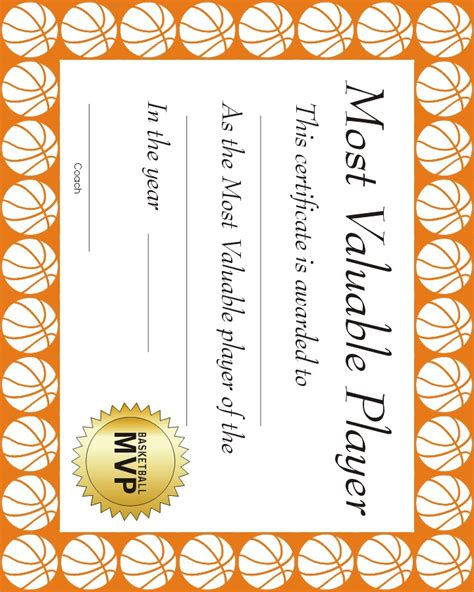 example of certificate in volleyball picture to pin on