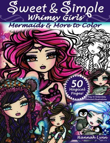 libro sweet simple whimsy sweet simple whimsy girls mermaids and more to color flyers online