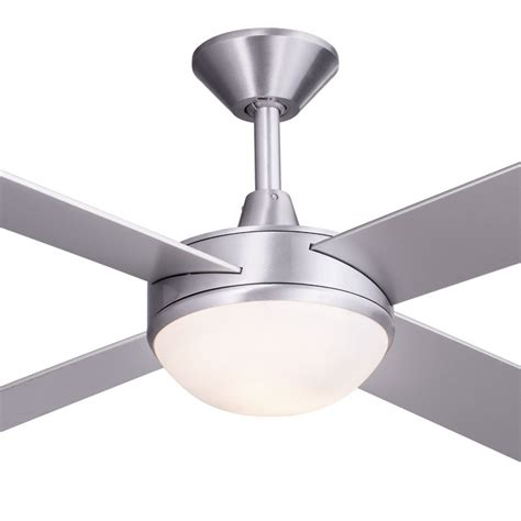 Ceiling Fans With Lights Australia Concept 2 Ceiling Fan With Light Brushed Aluminium 52 Quot Quot