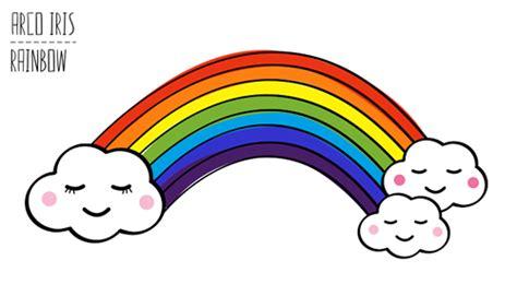 imagenes de un arco iris dibujos para colorear dibujo de arco iris