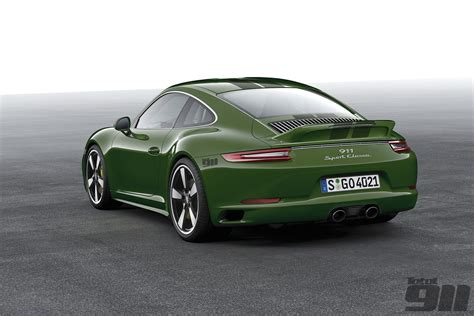 Classic Porsche by Exclusive New 911 Sport Classic And Speedster In The
