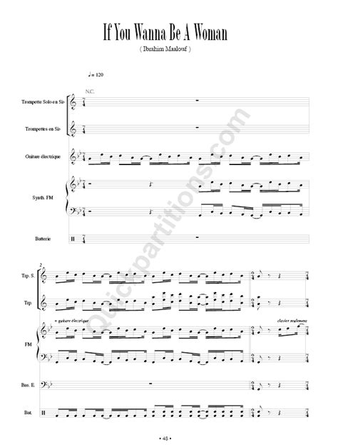 Illusions - Ibrahim Maalouf - Partition - Recueils