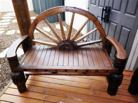 wagon wheel couch outdoor furniture wagon wheel bench melbourne sydney