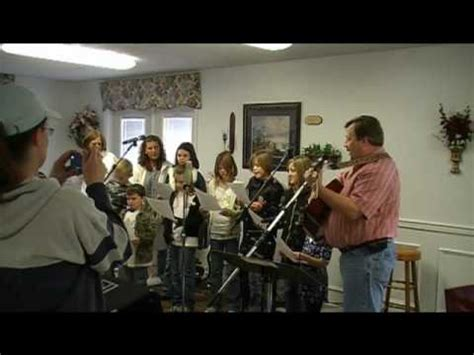 hedgeville baptist church youth unto thee oh lord youtube