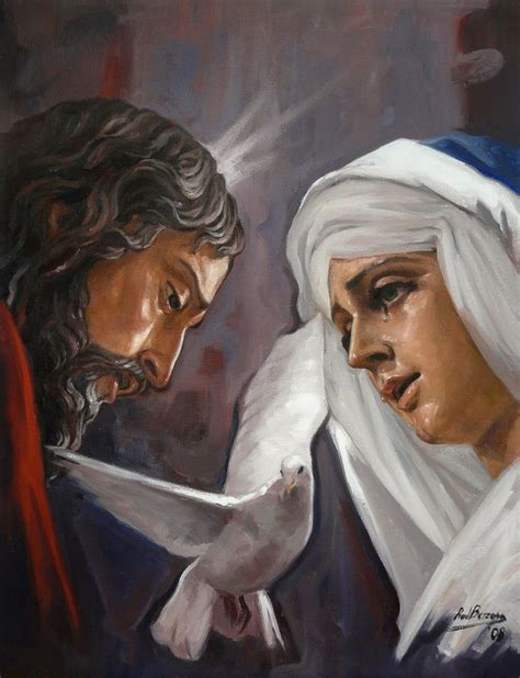 imagenes de jesus akiane kramarik ra 218 l berzosa pinta cristo de la puente y virgen de la