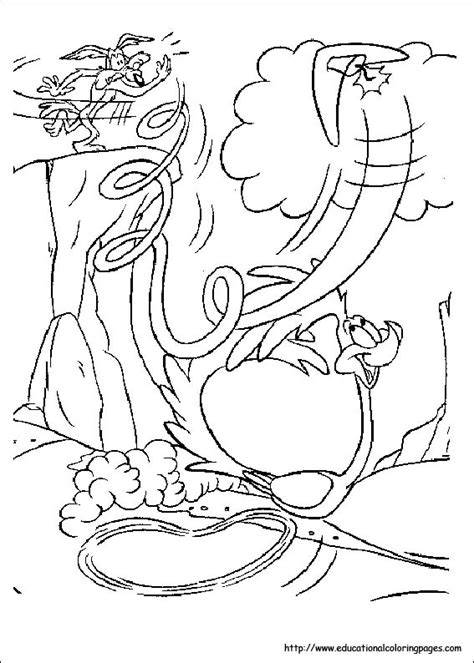 looney tunes coloring pages free for kids