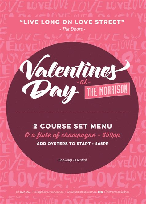 valentines day ideas sydney valentines day dining ideas rogue homme