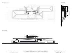 robie house floor plan frank lloyd wright robie house chicago usa 1910