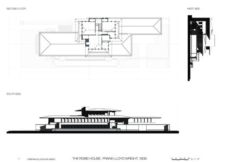 Robie House Floor Plan by Robie House By Frank Lloyd Wright Cristina Olucha