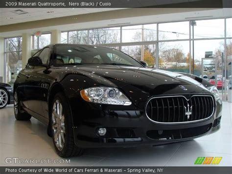 Maserati Quattroporte Black by Maserati Quattroporte Black Interior