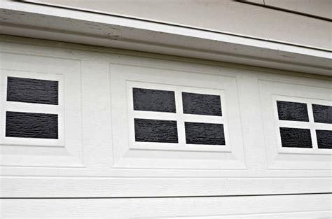 Garage Door Window Easy Diy Faux Garage Door Windows Simply Darr