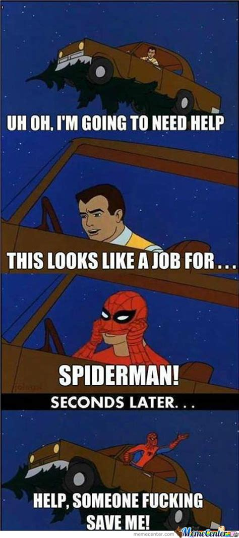 Friendly Spider Meme Picture Webfail - just your friendly useless neighborhood spider man by