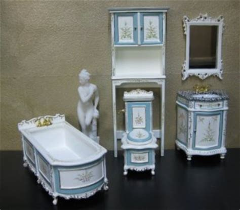 dollhouse bathroom set dollhouse bathroom