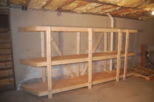 basement shelving units build easy free standing shelving unit for basement or garage
