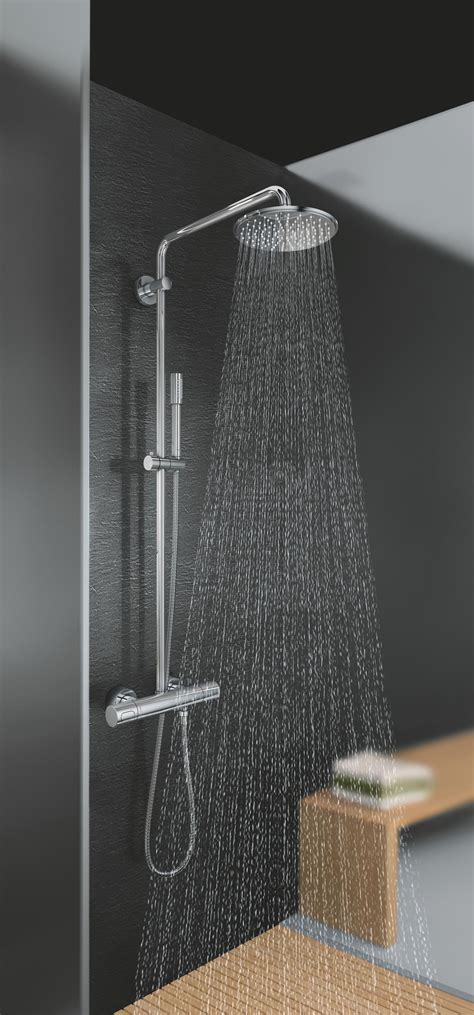 Rainshower Dusche by Rainshower 174 System 400 Duschsystem Mit Thermostatbatterie