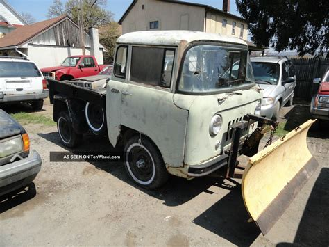 Jeep Truck 1960 1960 Jeep Willys Fc 140 Plow Truck Runs And Drives