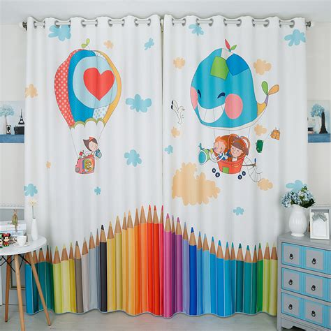 balloon valances for bedroom boys girl s bedroom window curtain for children room