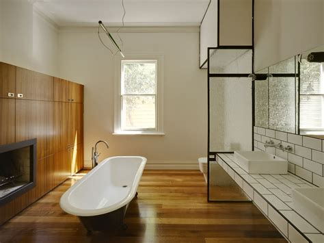 i love wood floors in bathrooms for the home pinterest gallery of barrow house austin maynard architects 14