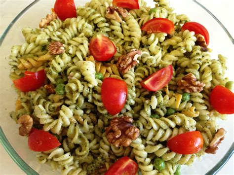 pesto salad pesto pasta salad recipe dishmaps