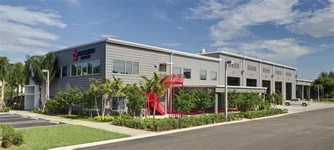service west palm miller construction company completes quot green quot facility for republic services miller
