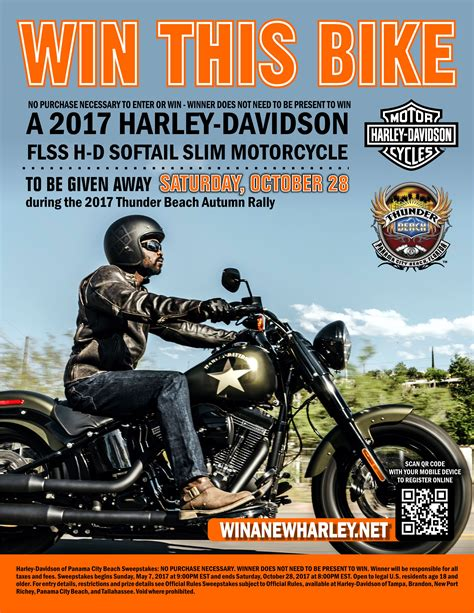 The View Sweepstakes 2017 - 2017 harley davidson softail slim giveaway born to ride motorcycle magazine