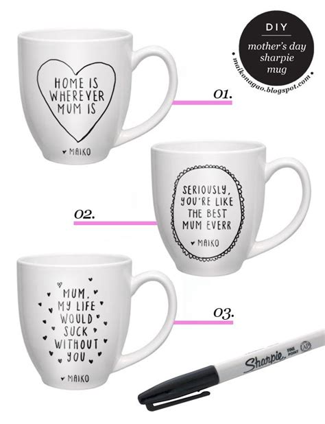 tutorial design mug 17 best images about mug sharpie on pinterest i like you