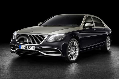 mercedes maybach s500 2019 mercedes maybach s class unveiled ahead of geneva