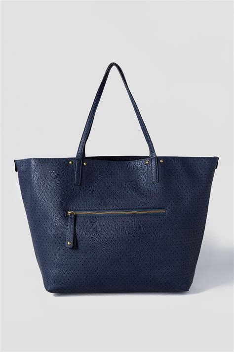 clarice perforated tote totes s