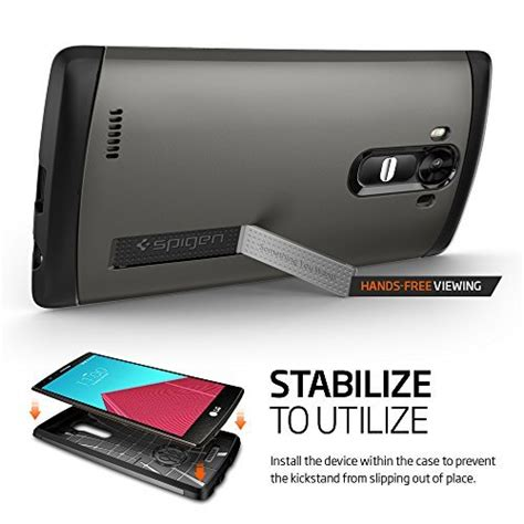 Spigen Slim Armor Lg G4 Stylus Casehardcasetoughback Cover spigen slim armor air cushioned for lg g4 android